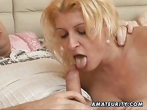 Chubby amateur wife fucking with facial cumshot