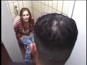 German slut gets it on toilet 1fuckdatecom