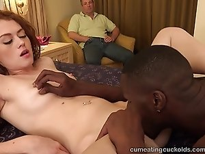 Alice Green Brings Home a Black Cock and Gets Creampied