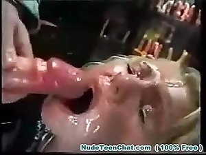 EXTREME FACIAL - Sexy Rave Girl Huge Cumshots